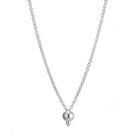 Chamilia sterling silver drop necklace 71cm or 28