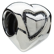 Chamilia - sterling silver heart in a heart bead - Product number 6803059