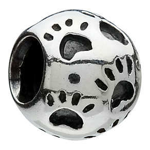 Chamilia - sterling silver paws bead - Product number 6803083