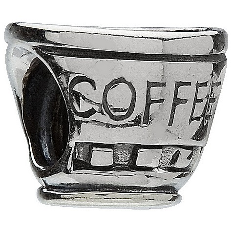 chamilia - sterling silver coffee cup bead product image