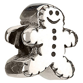 Chamilia - sterling silver gingerbreadman bead - Product number 6803121
