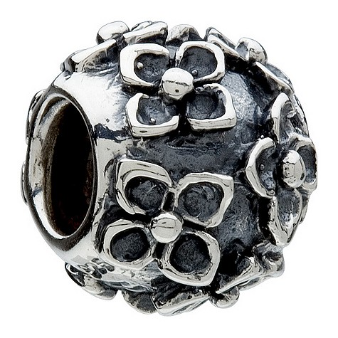 chamilia - sterling silver flower bead product image
