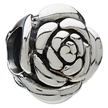 Chamilia - sterling silver rose bead - Product number 6803245