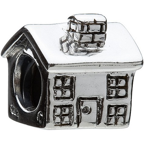chamilia - sterling silver house bead product image