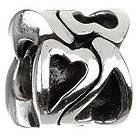 Chamilia - sterling silver hearts bead - Product number 6803288