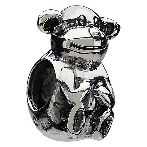 chamilia - sterling silver monkey bead product image