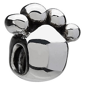 Chamilia - sterling silver paw bead - Product number 6803431