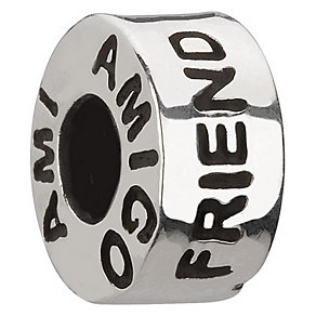 Chamilia - sterling silver friend bead - Product number 6803695