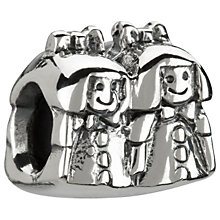 Chamilia - sterling silver Sisters bead - Product number 6803733