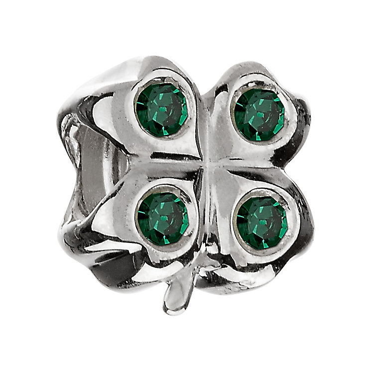 Chamilia - sterling silver four leaf clover bead - Product number 6804101