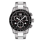 Tissot V8 men's black dial chronograph bracelet watch - Product number 6805701