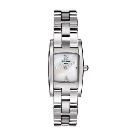Tissot ladies mother of pearl dial bracelet watch