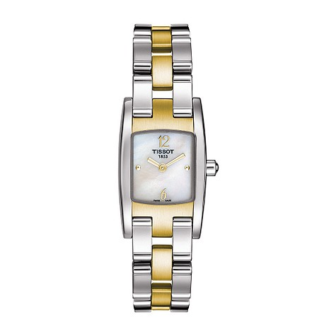 Tissot ladies mother of pearl two colour product image