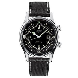 Longines Heritage Legend Diver men's black strap watch - Product number 6806430