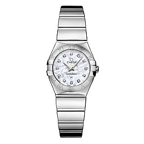Omega Constellation ladies' mother of pearl dial watch - Product number 6807062