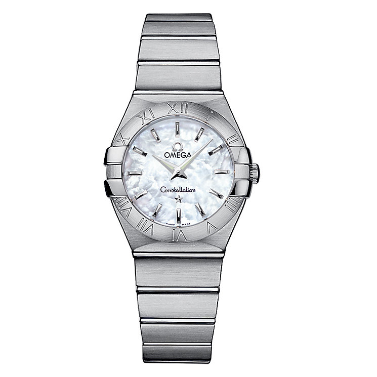 Omega Constellation ladies' stainless steel bracelet watch - Product number 6807119