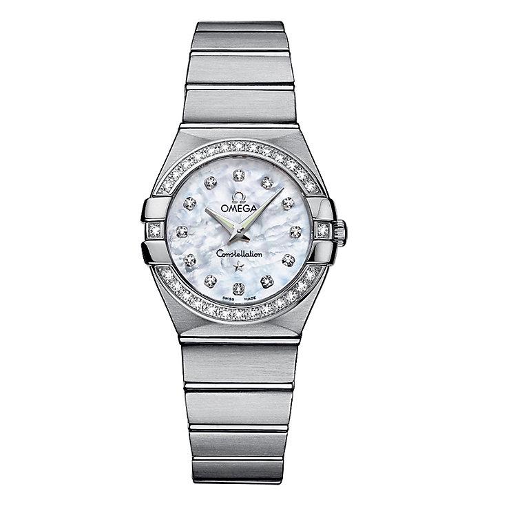 Omega Constellation Quartz ladies' Bracelet watch - Product number 6807127