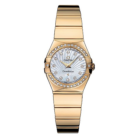 Omega Constellation Ladies' 18ct Gold Bracelet Watch