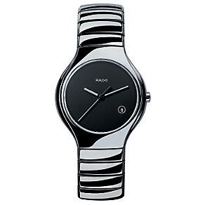 Rado True men's platinum colour ceramic watch - L - Product number 6807429