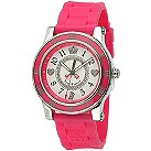 Juicy Couture HRH ladies' stone set pink strap watch - Product number 6811388