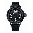Nautica NMX men's black IP black dial strap watch - Product number 6813577
