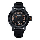 Nautica men's black ion plated strap watch - Product number 6813585