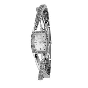 DKNY ladies' stone set cross over watch - Product number 6816495