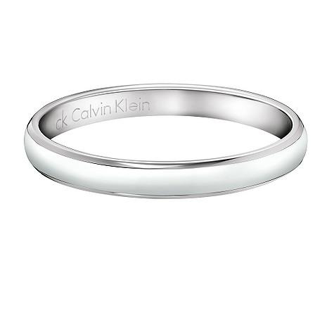 Calvin Klein Gloss ring - Size L/M