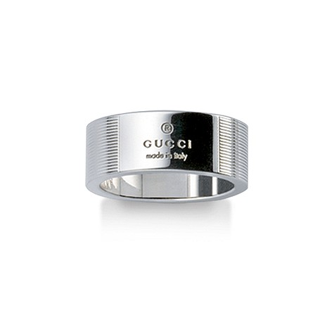 Gucc sterling silver ring
