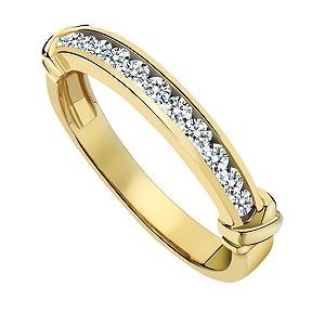 Diamond Kisses Third Carat Ring