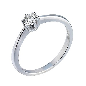 Facets of Love Third Carat Diamond Solitaire Ring