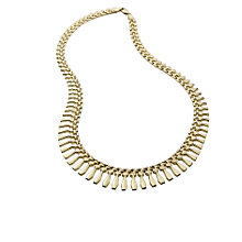 9ct gold collar necklace - Product number 6888615