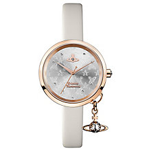 Vivienne Westwood Ladies' Bow Rose Gold Tone Strap Watch - Product number 6889301