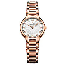 Dreyfuss & Co Ladies' Rose Gold PVD Bracelet Watch - Product number 6889786