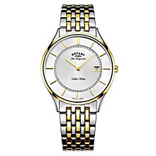 Rotary Gents' Two Tone Stainless Steel Bracelet Watch - Product number 6892248