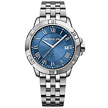 Raymond Weil Tango Men's Stainless Steel Blue Bracelet Watch - Product number 6893066