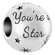 Chamilia Sterling Silver You're A Star Bead - Product number 6893201