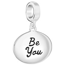 Chamilia Sterling Silver Be You Charm - Product number 6893279