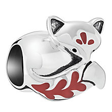 Chamilia Sterling Silver Sleeping Fox Bead - Product number 6893295