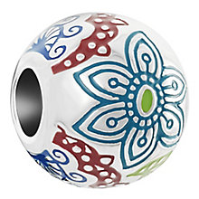 Chamilia Sterling Silver Henna Floral Bead - Product number 6893317