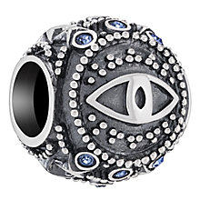 Chamilia Sterling Silver Eye Of Protection Bead - Product number 6893538