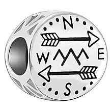 Chamilia Sterling Silver Take The Scenic Route Bead - Product number 6893694