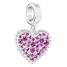 Chamilia Sterling Silver With Love February Charm - Product number 6893791