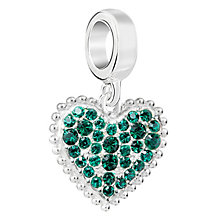 Chamilia Sterling Silver With Love May Charm - Product number 6893813