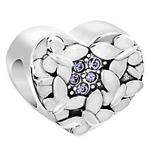 Chamilia Sterling Silver Butterfly Love Bead - Product number 6893902
