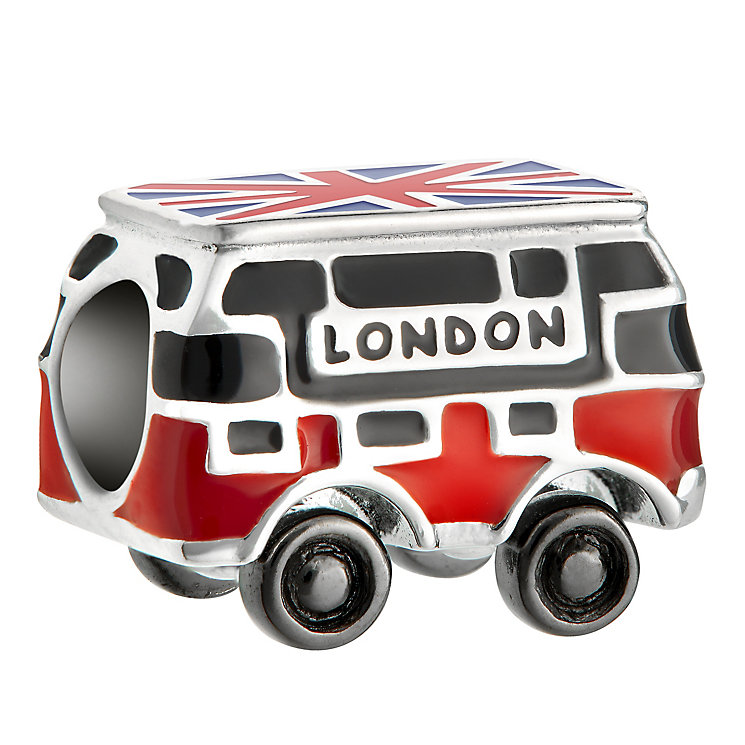 Chamilia Sterling Silver London Bus Bead - Product number 6893953