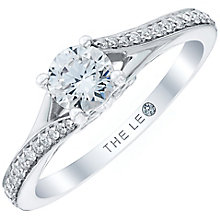 Leo Diamond Platinum 0.63ct Diamond Ring - Product number 6897010