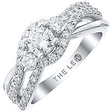Leo Diamond Platinum 1ct Diamond Ring - Product number 6899668