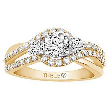Leo Diamond 18ct Yellow Gold 1ct Diamond Ring - Product number 6900062
