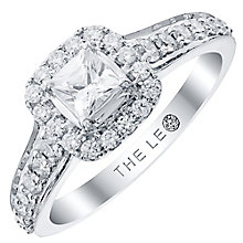 Leo Diamond Platinum 0.75ct II1 Diamond  Halo Ring - Product number 6900208